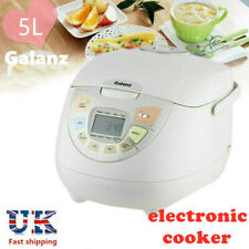 Galanz 8 in 1 Multicooker Rice Cooker with Steamer 900W 5 Litres UK