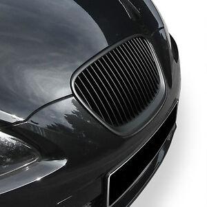 Badgeless debadged slatted grill for Seat Leon K 1P 2009-2012 facelift