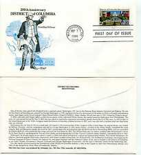 2561 Distric of Columbia Artmaster FDC