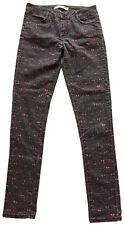 """COMPTOIR des COTONNIERS """"Les Jeans"""" Women's Print Skinny Cigarette Jeans 30 x 33"""