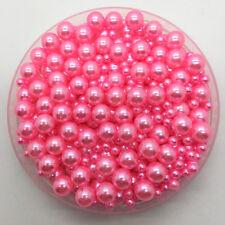 4-10mm 15g Mix Size No Hole Imitation Pearls Round Beads DIY Jewelry Making #CA