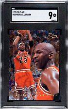 1995-96 Flair, Michael Jordan, #15, SGC 9