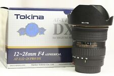Tokina AT-X Pro 12-28mm f4 lens for Canon EF - Excellent condition
