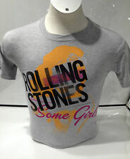 Rolling Stones Men's Some Girls T-shirt, Grey Medium
