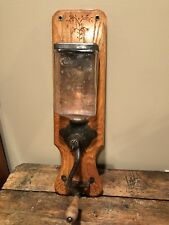 RARE- Antique JEWEL wall Mount Coffee Grinder