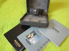 Men's/ Lady's RADO Diastar Ceramic 24mm WATCH w/Date, Bracelet 6.75in=17cm Wrist