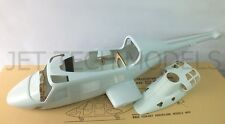 FUNKEY BELL 222 fuselage 600 KIT with Retractable Landing gear +INSTRUMENT PANEL