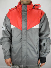 Forvert Husky Männer Jacke Men Snowboard Jacket Größe L Grey / Red