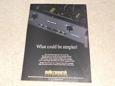 Audio Research Tube Preamp,LS2, Ad from 1992, mint!