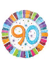 "Radiant 90 Celebration 18"" Amscan Licensed Balloon Birthday Anniversary"