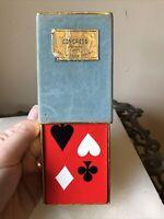 Vintage Congress Playing Cards Cel-U-Tone Finish - 52 Cards Velvet