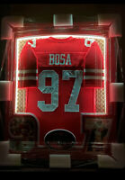 NICK BOSA Signed Jersey CUSTOM FRAME 1of1 RARE San Francisco 49ers OSU @WOW
