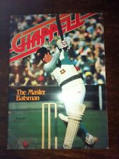 Chappell, The Master Batsman Magazine Excellent Cond very rare