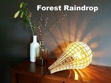 Wooden Pendant Light Forest Raindrop