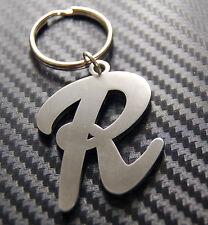 R Letter Alphabet Name Keyring Keychain Key Fob Bespoke Stainless Steel Gift