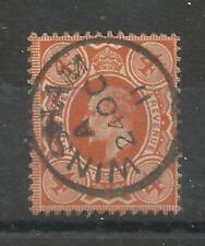 1911 Harrison Perf 14 Sg 278 4d Bright Orange with CDS, Superb used. {TT1193-40}