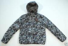 Cappotti e giacche da donna grigia in nylon con cerniera