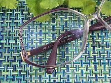 VTG 80's Silhouette Womens Eyeglasses SPX M1728 C1727 PURPLE PLASTIC EYEGLASSES