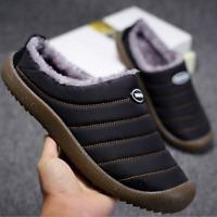 Women Winter Slippers Non-Slip House Slippers Outdoor Warm Slip-On Slippers Fur