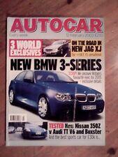 AUTOCAR MAGAZINE 12-FEB-03 - Audi TT V6, Nissan 350Z, Porsche Boxster, Aston DB7