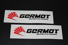 +056 Germot Bekleidung Leder Aufkleber Decal Sticker Autocollant Motorrad lang