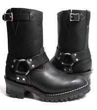 8 C Wesco Womens 8 Inch Harness Black WW-BK7708100