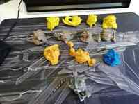 12 Mini Boglins Boglin Vintage Toy Action Figure Bundle Job Lot 90s 1991 Mattel