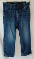 Boys George Blue Whiskered Denim Adjustable Waist Classic Jeans Age 2-3 Years