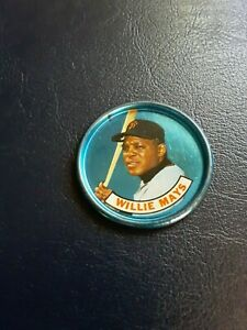 1966  old london Willie Mays Coin  nice