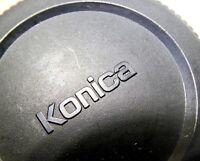 Konica Hexanon AR Rear Lens Cap PEM for 57mm f1.4 Hexanon  Genuine Original