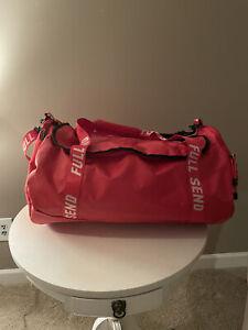 Full Send Red Duffle Bag