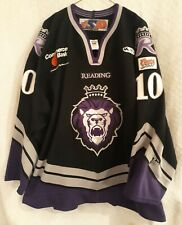 Reading Royals Shawn Collymore Gameworn/Used Black Hockey Jersey 2006-07 ECHL