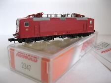 ARNOLD rapido 2347 E-Lok BR 143 360-6 Rot DB Spur N OVP