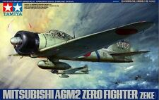 Tamiya 61016 1/48 Aircraft Model Kit Mitsubishi A6M2 Zero Fighter Type 21(Zeke)