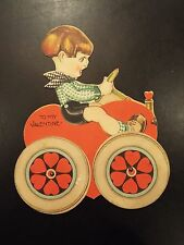 """To My Valentine"" Love Buggy Valentines Day Card 1926"