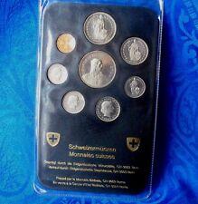 COFFRET MONNAIE SWISS  PIECES  1980 **SWISS  COINS ** A VOIR!!!!!