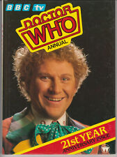 Doctor Who Annual 1985. VGC and unclipped price tag!