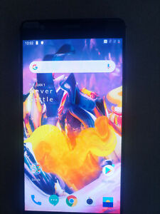 OnePlus 3T - 64GB - Gun Metal (Unlocked) Smartphone A3003