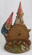 """* Large Tom Clark Gnome Figure """"Woody And Chane"""" / Edition # 16 / 1983"""