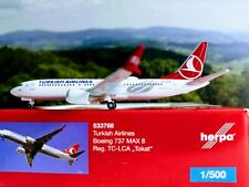 "1:500 Herpa Wings Turkish Airlines Boeing 737 Max 8 ""Tokat"" (533768)"