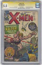 X-Men #10 CGC 5.5 Marvel Comic Signature Series Stan Lee KEY 1st Ka-Zar & Zabu