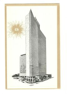 Americana Hotel of New York, Postcard, Unposted, 2000 Guest Rooms, 5 Restaurants