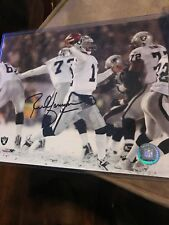 Rich Gannon Signed Oakland Raiders 8x10 Photo Mounted Memories