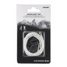 SALOMON  XT WINGS XA PRO QUICK LACE LACES KIT NEUTRAL WHITE QUICKLACE