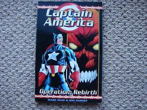 Captain America Operation Rebirth Marvel Graphic Novel