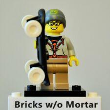 New Genuine LEGO Street Skater Minifig and Skateboard Series 4 8804