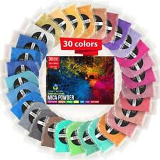 Epoxy Resin Dye - Mica Powder Ultimate 30 Colors Pigment Powder Set 300g/10.5oz