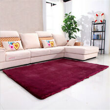 Large Anti-Skid Shaggy Floor Soft Shaggy Fluffy Plain Area Rug Carpet Mat Home
