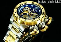 Invicta Men's 52mm Reserve Subaqua Sea Dragon SWISS Chronograph 18K GP SS Watch