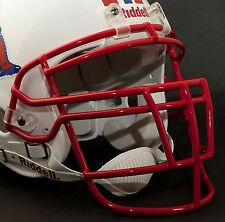 Schutt Super Pro RJOP-DW Football Helmet Facemask / Faceguard (SAN FRAN RED)